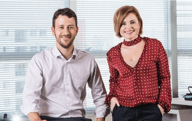 Cláudia Vassallo e Thiago Lethbridge: os fundadores da NOVA PR